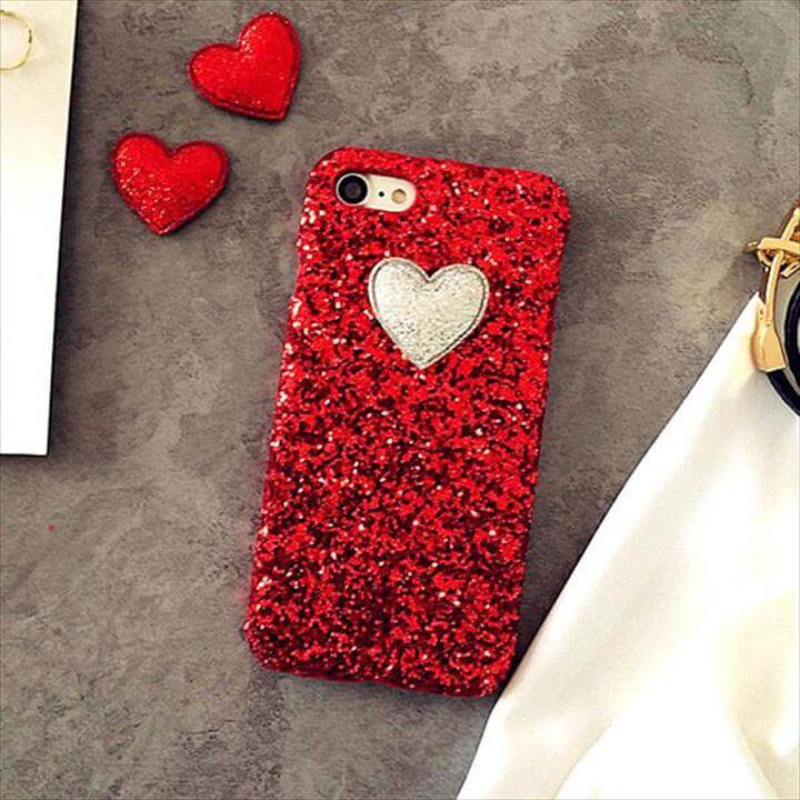 heart iphone cover