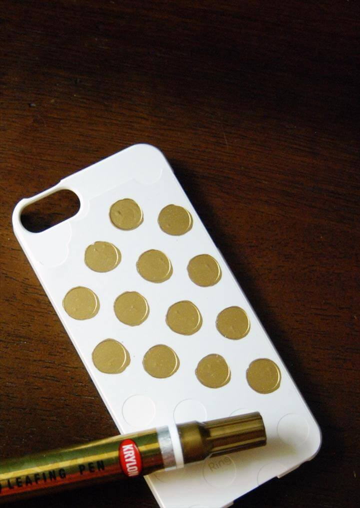 DIY Kate Spade Inspired iPhone Cover