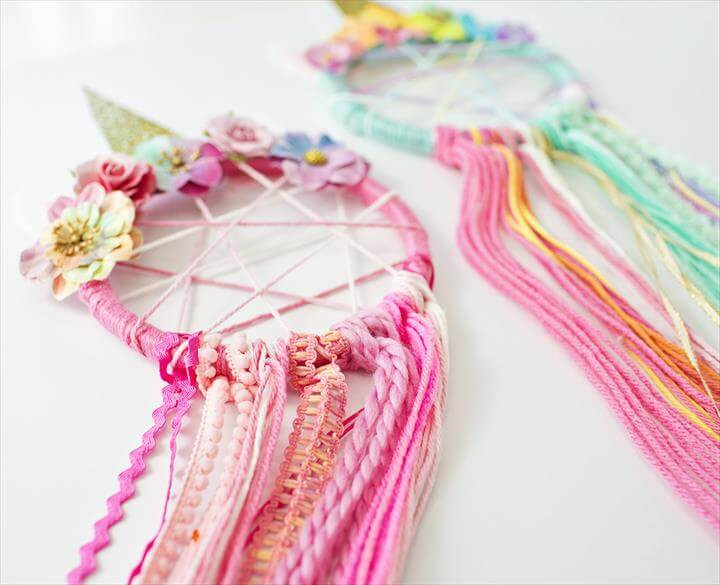 gorgeous diy dream catcher