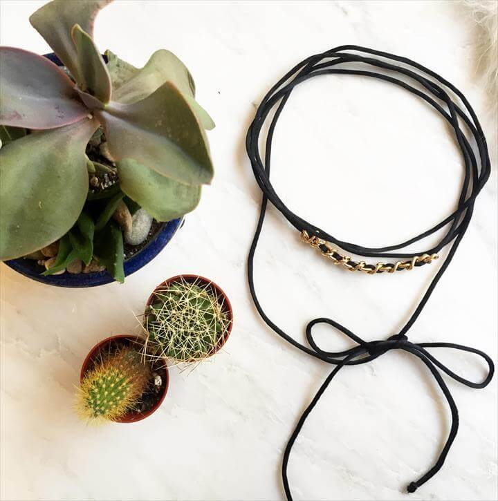 CHOKER NECKLACES STEP BY STEP