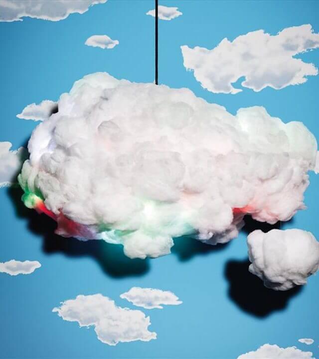 DIY Multi-colored Cloud Light