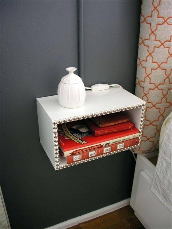 diy bedside table bedroom nightstand ideas diy bedside table makeover