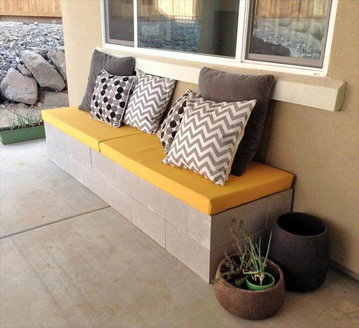 great outdoor bench