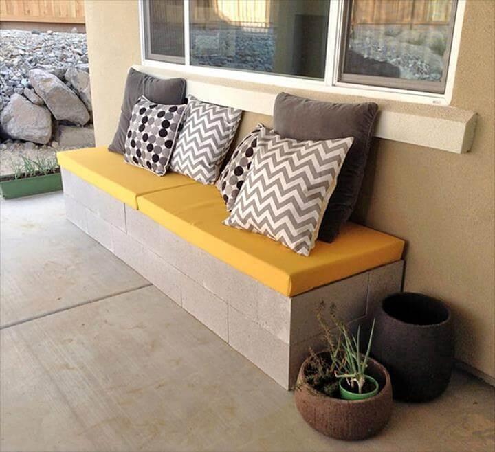 great outdoor bench