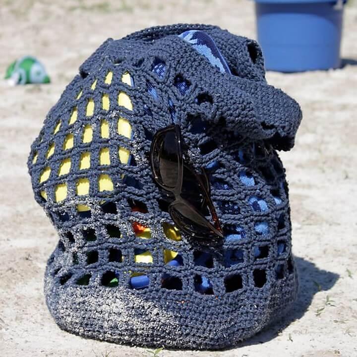 diy crochet, diy crochet bag, diy summer crochet bag, diy tote beach crochet bag,