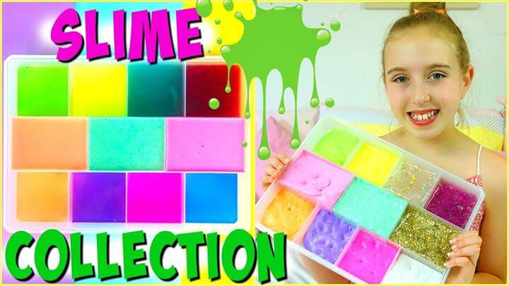 Glitter Slime Ideas On Glue