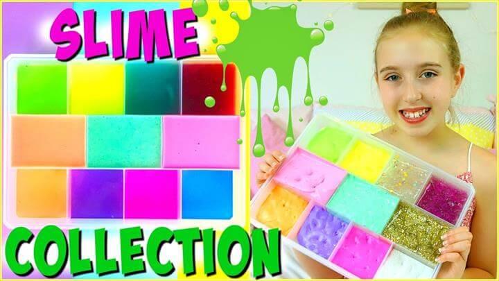 Glitter Slime Ideas On Glue