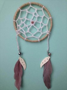 Dreamcatcher With Things Around The House