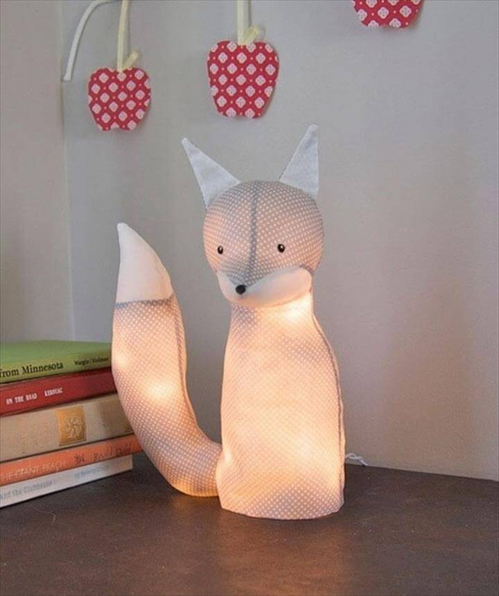 DIY Animal Lamp
