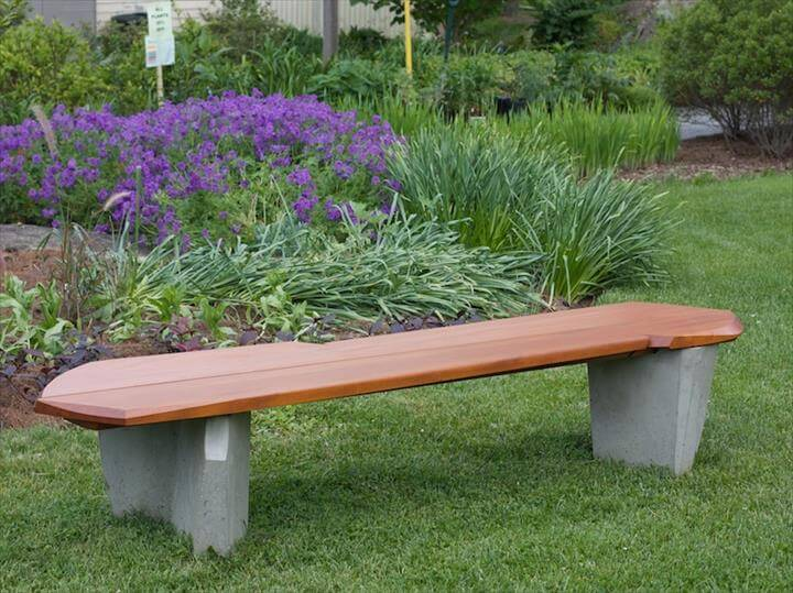 Garden DIY Outdoor Bench Ideas For Garden And Patio: DIY Outdoor Bench Ideas For Garden