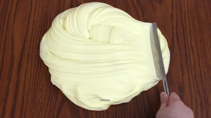 Butter Slime! DIY Soft, Stretchy Butter Slime without Clay