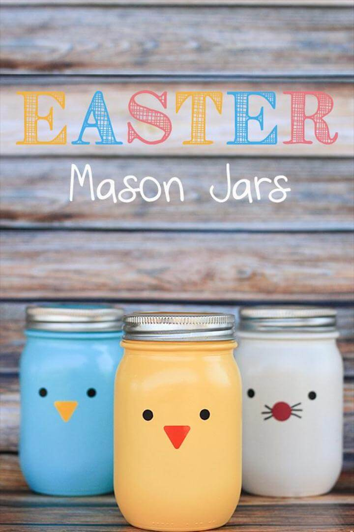 Mason Jar Easter Gift Ideas