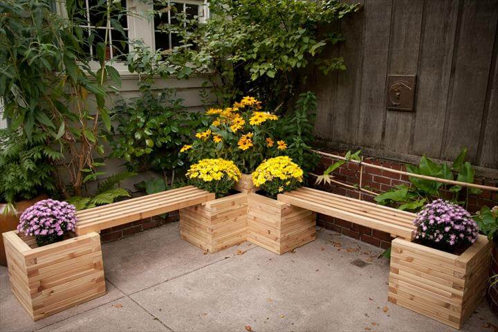 easy diy outdoor bench