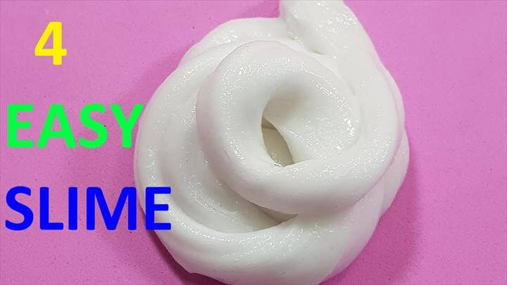 Easy DIY Slime Ideas
