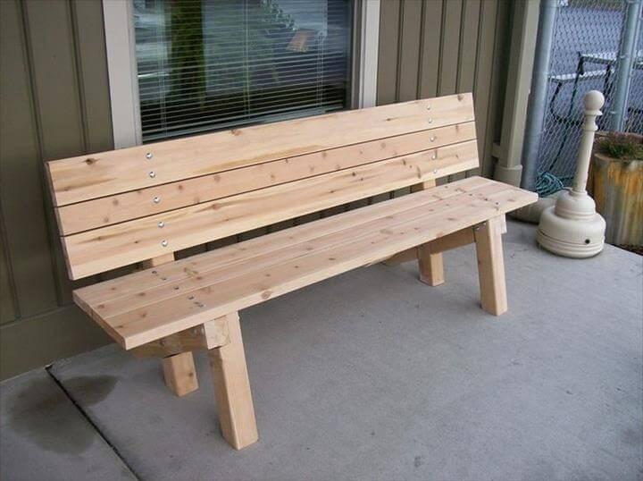 Garden Bench Plans Ideas