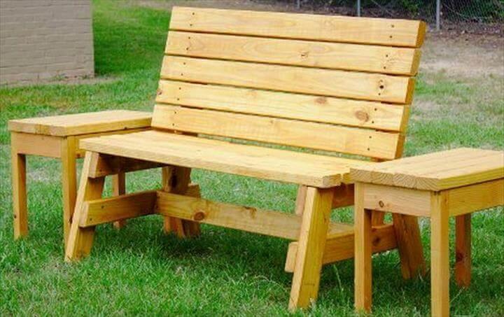 Best Diy Garden Bench Creative Idea Diy Brown Pallet Wood Bench Seat Fear Twin Brown