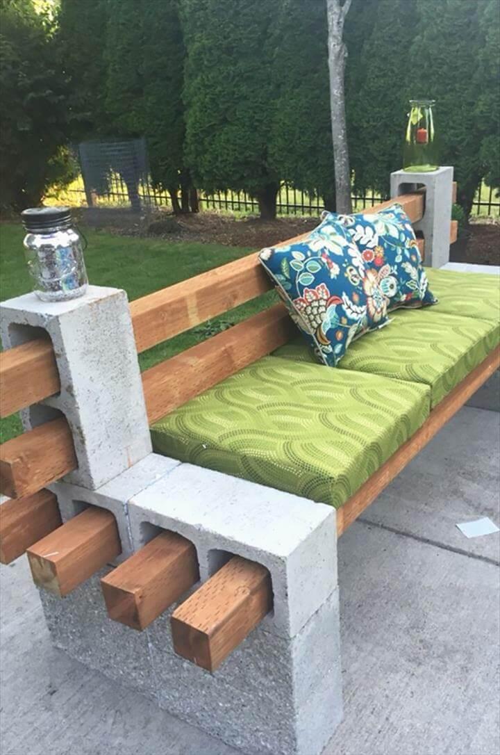 Diy Garden Bench Ideas Free Plans for Outdoor Benches