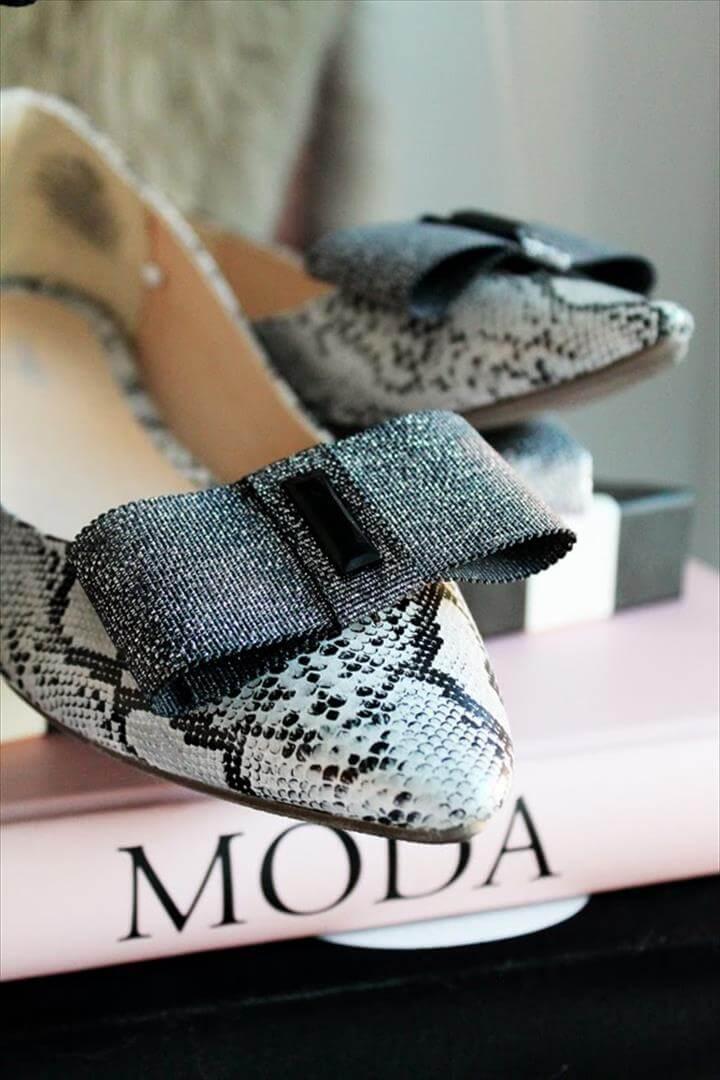 DIY File: Bow Shoe Clips
