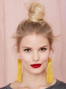 20 DIY Tassel Earring Craft Ideas