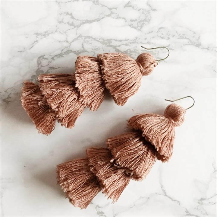 Tassel Earrings Workshop