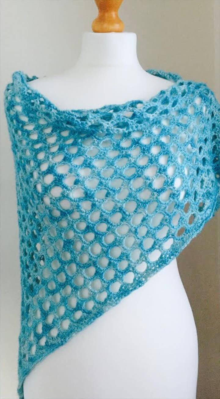 amazing crochet shawl design