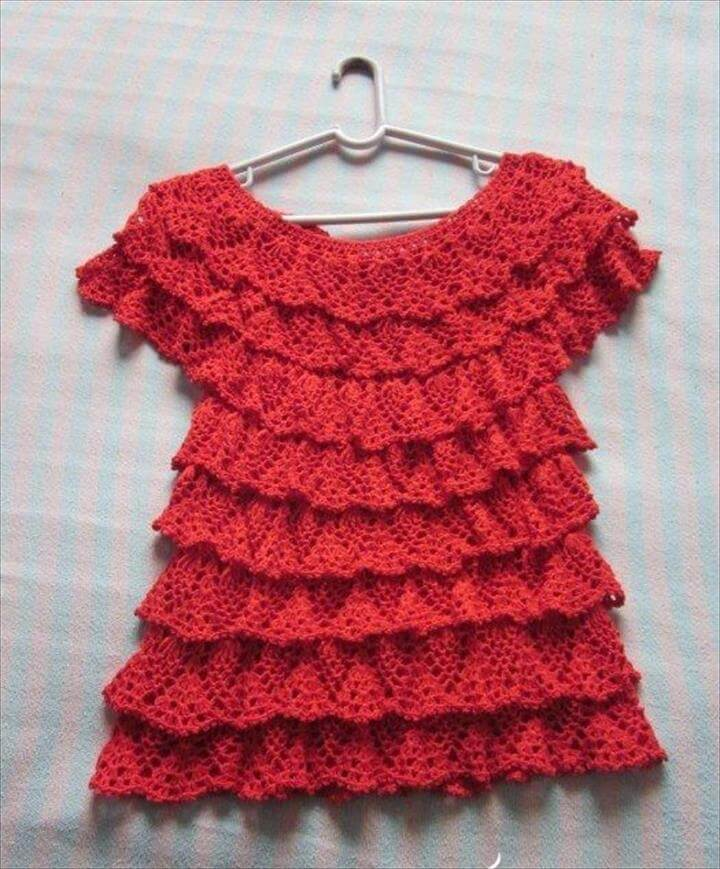crochet fashion for summer - crafts ideas - crafts for kids