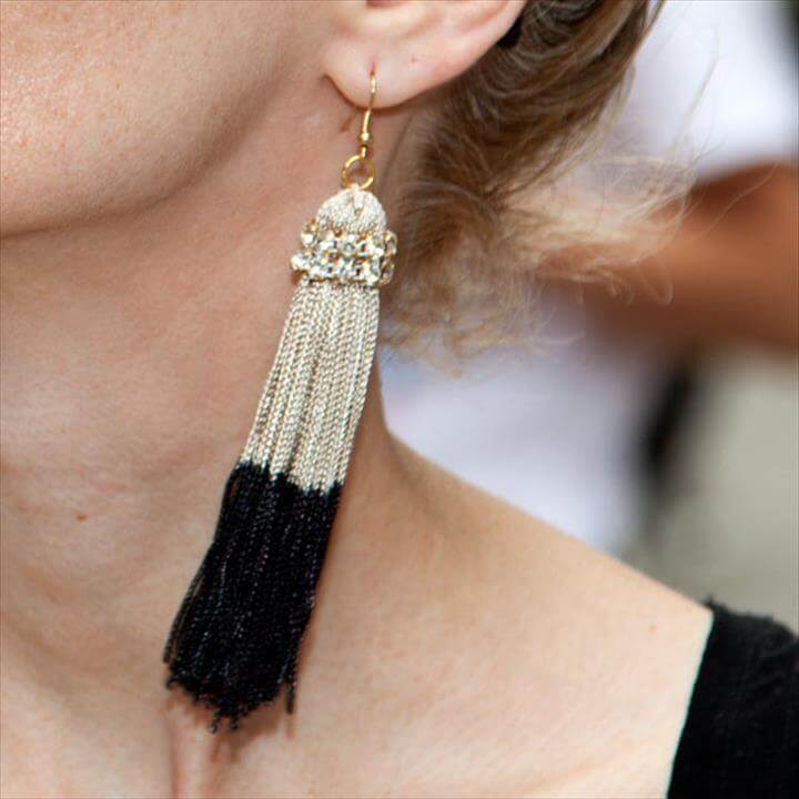 BEAUIFUL TASSEL EARRINGS