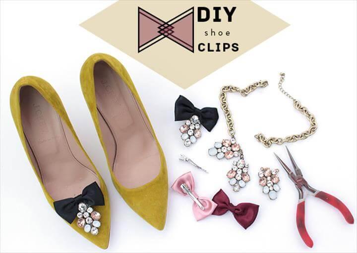 DIY shoe clips tutorial header