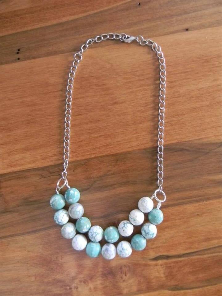 DIY Jewelry DIY Necklace : DIY Make Your Own…DIY Beaded Necklace