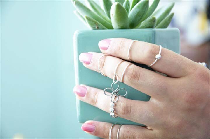 DIY Boho Knuckle Rings