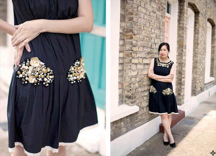 DIY: EMBELLISHMENT AND BAROQUE DRESS