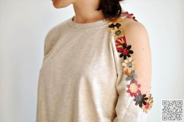 No Need to Buy New Fall Cardigans; Embellish Old Ones Using One of These Crafty Ideas .