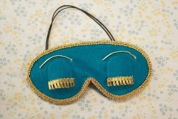 Holly Golightly Eye Mask DIY