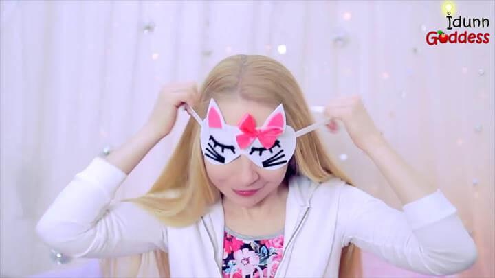 In this video I show five ways of making sleep masks (or blindfolds) shaped like animals - easy DIY Unicorn, Owl, Bat, Kitty and Panda Sleep Masks tutorial. ...