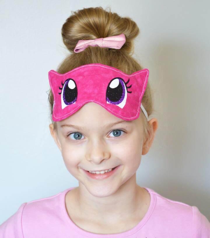 DIY My Little Pony Eye Mask