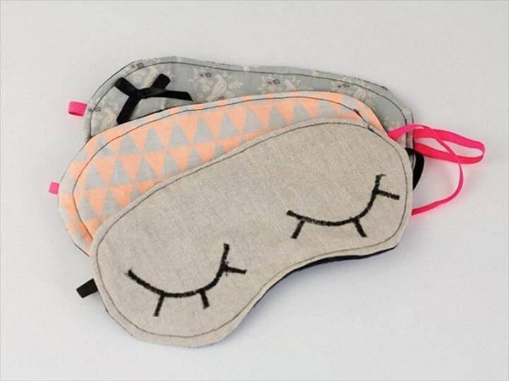 cool DIY sleep mask designs
