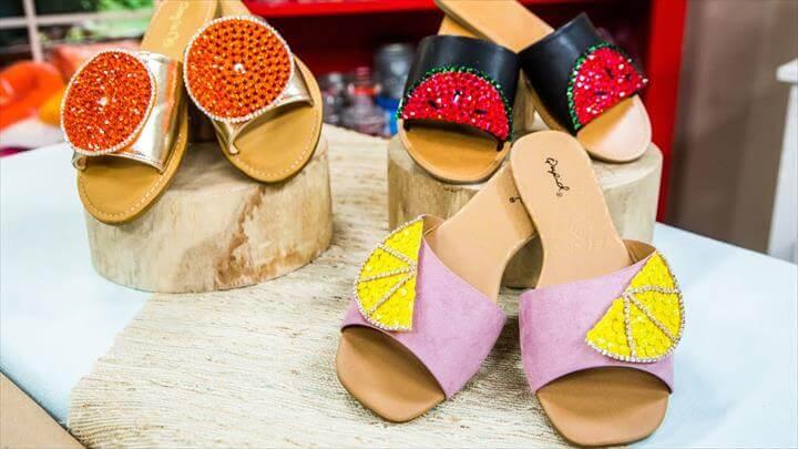 DIY Fruity Shoe Clips - Home & Family