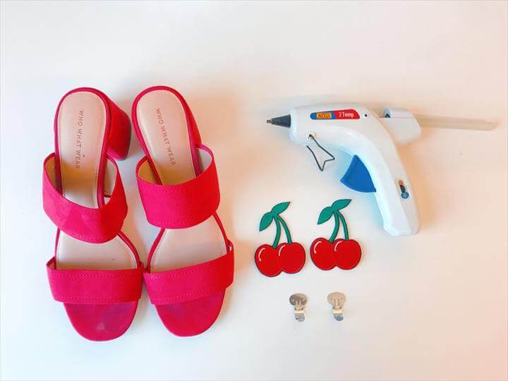DIY - FRUITY SHOE CLIPS