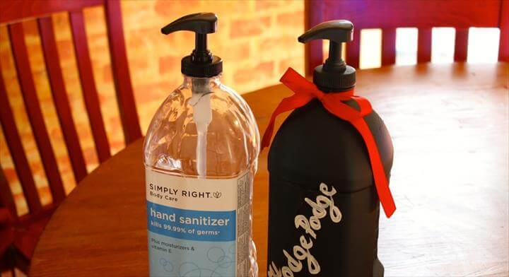 DIY HAND SOAP DISPENSER