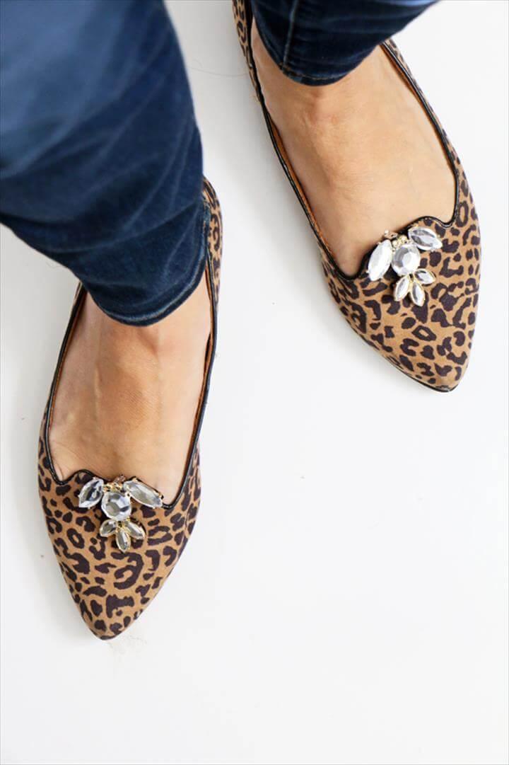 DIY Rhinestone Shoe Clips