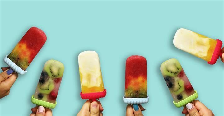 Pop it Like it's Hot: DIY Summer Popsicles