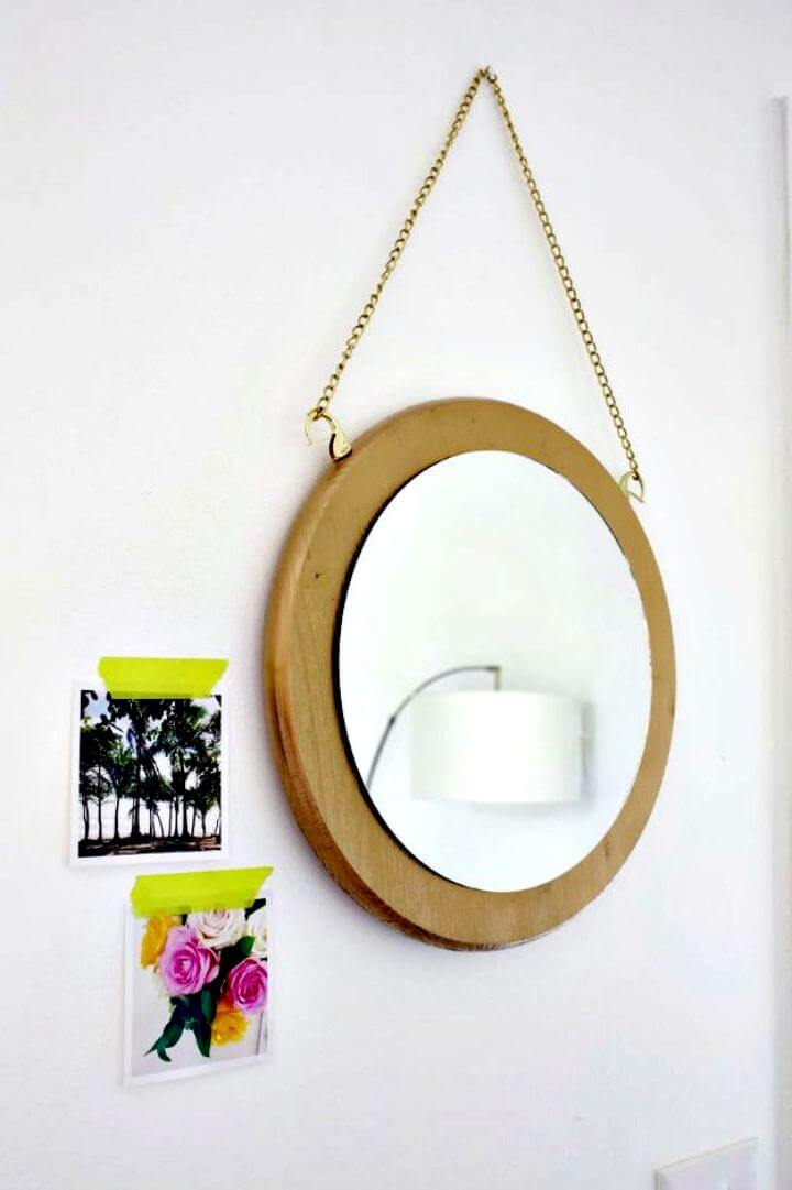 diy room decor, diy home decor, home decoration, mirror decor, crafts decor, wall decor, hanging idea