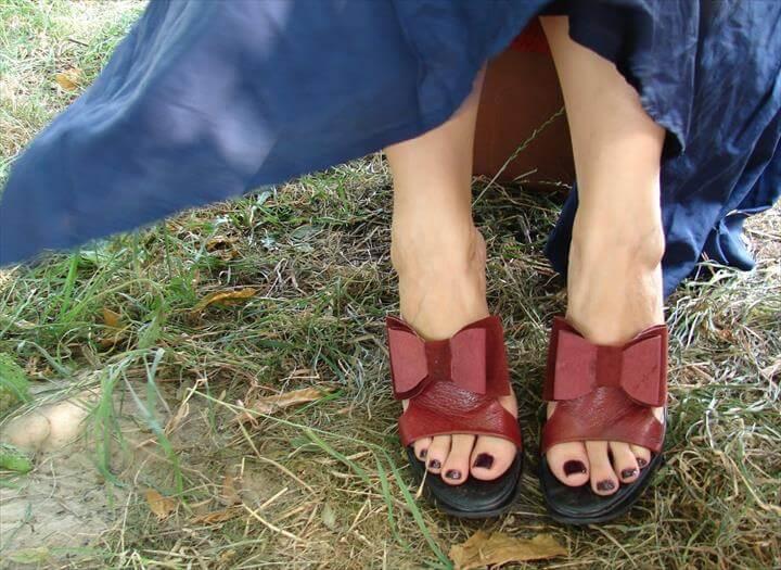 diy tutorial, diy shoe clip