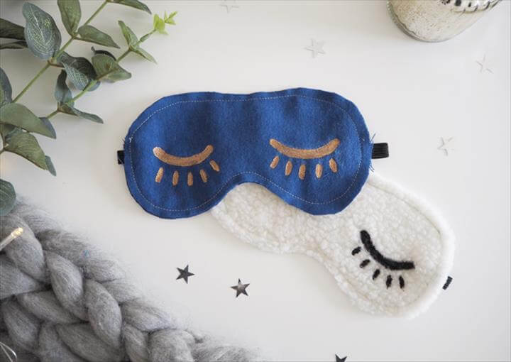 DIY Eye Mask Tutorial