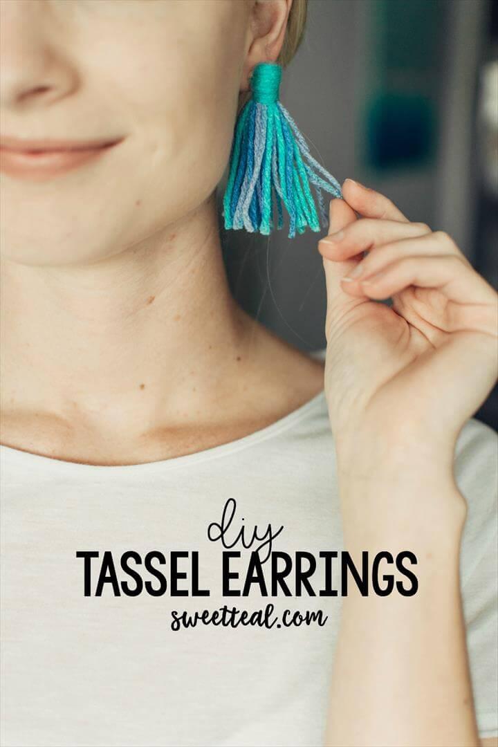 diy earrings, diy fashion, fashion ideas