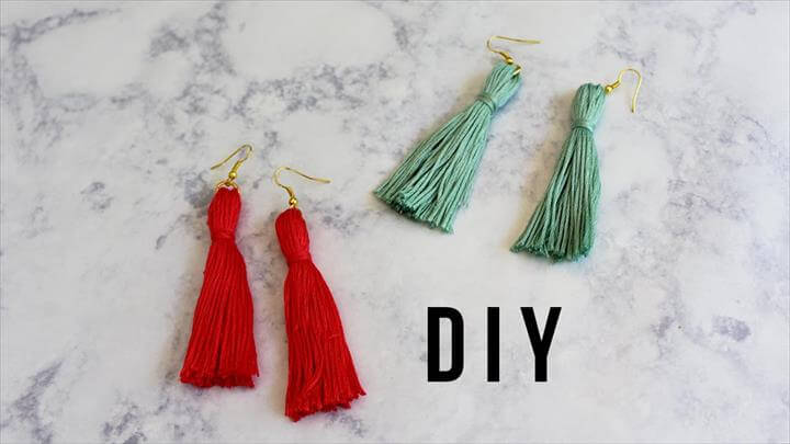 DIY Tassel Earrings!