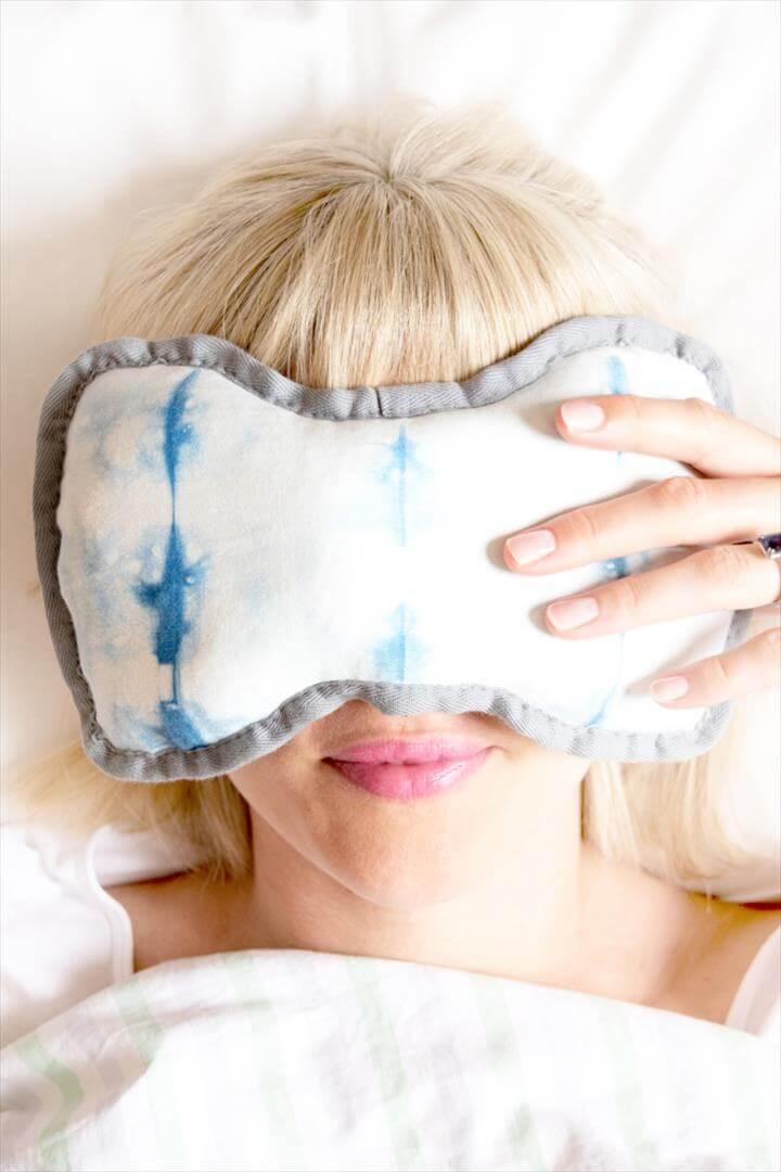 dye eye mask diy