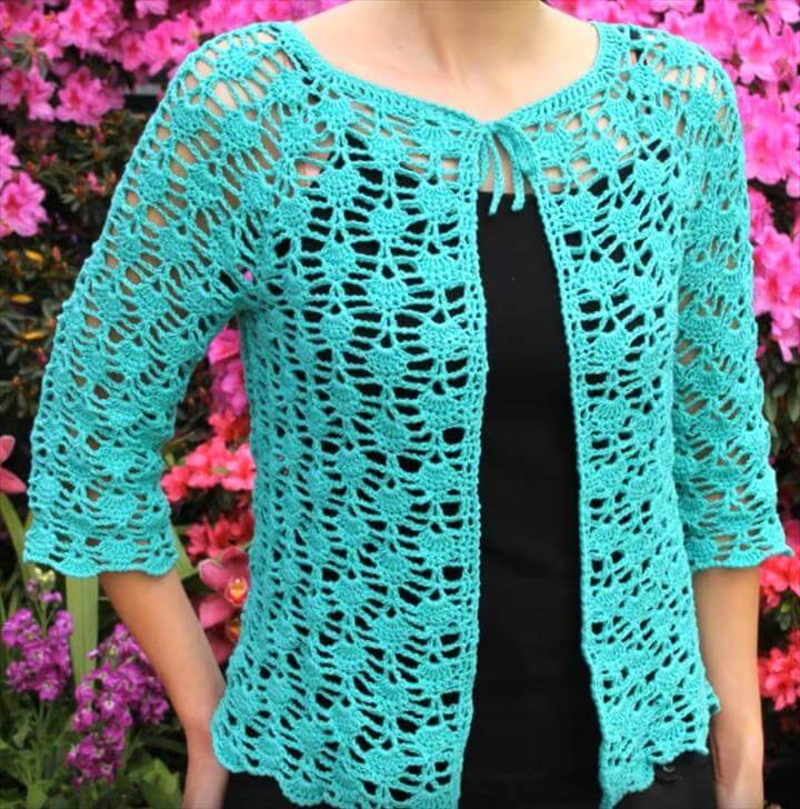 Lace Summer Top Crochet Tutorials – Craft Addicts
