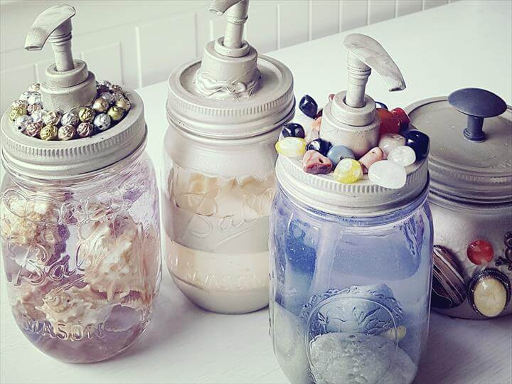 Things to Do with Mason Jars: DIY Soap Dispenser