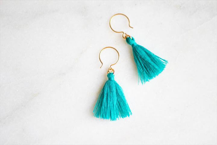DIY Tassel Earrings Are The Perfect Handmade Mother